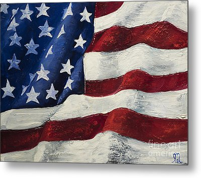 My Flag Metal Print by Jodi Monahan