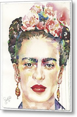 My Frida Metal Print