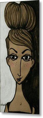 my friend Ella Bella Metal Print