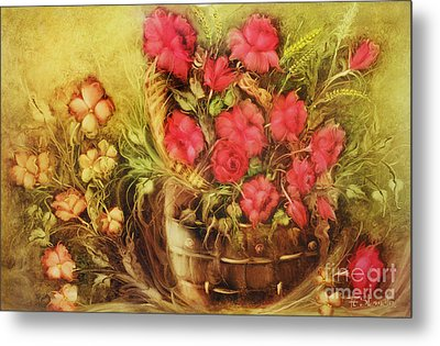 My Garden Of Roses Metal Print by Fatima Stamato
