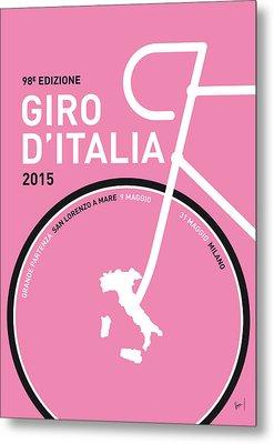 My Giro D'italia Minimal Poster 2015 Metal Print