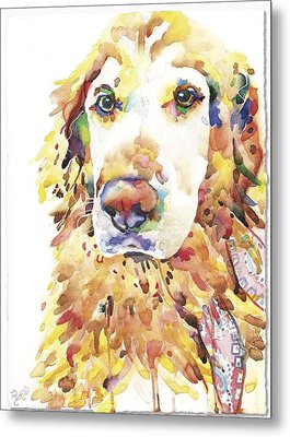 My Golden Retriever Metal Print