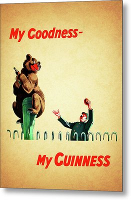 My Goodness My Guinness 2 Metal Print by Mark Rogan
