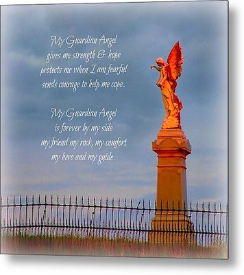 My Guardian Angel Metal Print