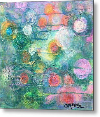 Metal Print featuring the painting My Heart Will Find You by Laurie Maves ART