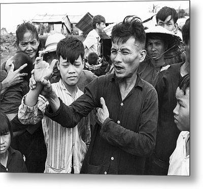 My Lai Massacre Victims Metal Print by Underwood Archives