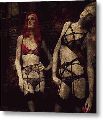 My Love As No Beginning My Love Has No End  Metal Print