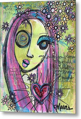 My Love For You Blooms Metal Print by Laurie Maves ART