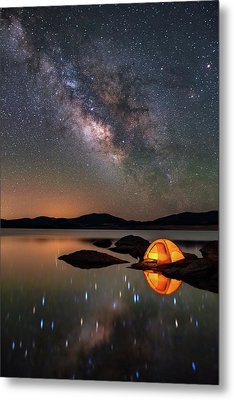 My Million Star Hotel Metal Print