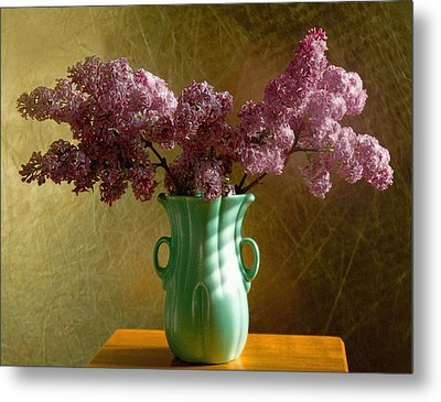 My Mother's Lilacs Metal Print by Wendy Blomseth