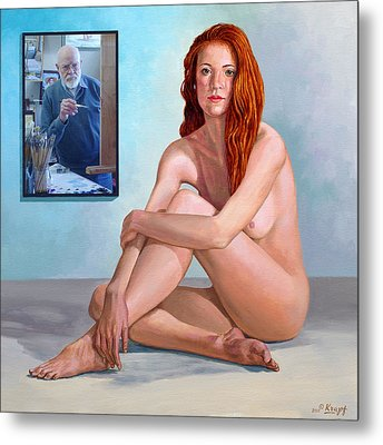 My Muse And I  Metal Print by Paul Krapf