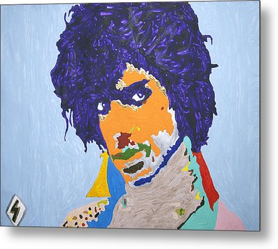 My Name Is Prince  Metal Print by Stormm Bradshaw