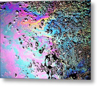 My Obsession With Asphalt II Metal Print by Anna Villarreal Garbis