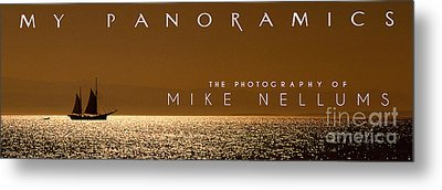My Panoramics Coffee Table Book Cover Metal Print by Mike Nellums