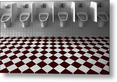 My Private Toilet... Metal Print by Gilbert Claes