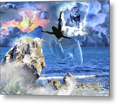 My Savior Metal Print by Dolores Develde
