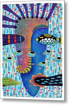 My Self 1 Metal Print by Opas Chotiphantawanon