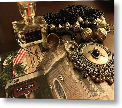 My Travel Feminine Accoutrements  Metal Print