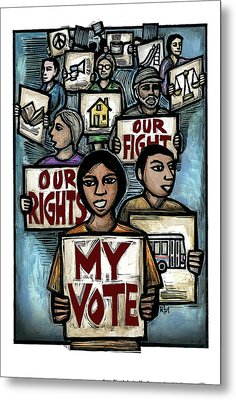 My Vote Metal Print