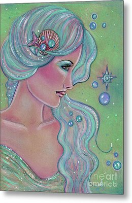 Myrna Metal Print by Renee Lavoie