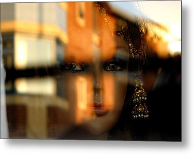 Mysterious Girl Metal Print by Jez C Self