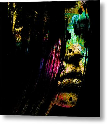 Mysterious Girl Metal Print by Marian Voicu
