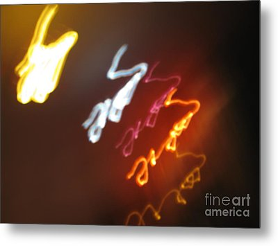 Metal Print featuring the photograph Mysterious Signature by Ausra Huntington nee Paulauskaite