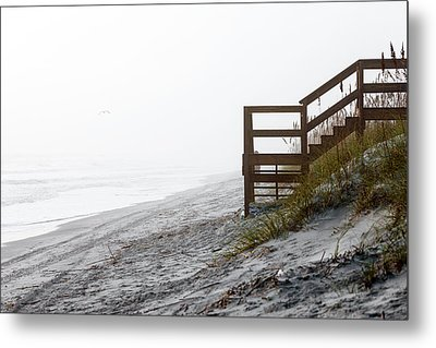 Metal Print featuring the photograph Mystery Beach by Anthony Baatz