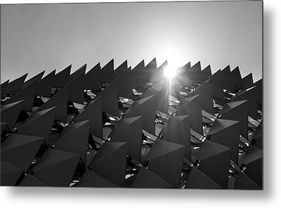 Mystery Structure Metal Print