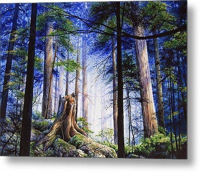 Mystic Forest Majesty Metal Print by Hanne Lore Koehler