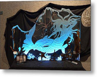 Mystic Mermaid Metal Print