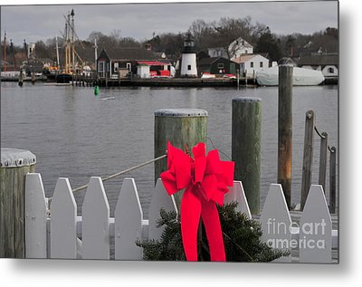 Mystic River Metal Print by Catherine Reusch Daley