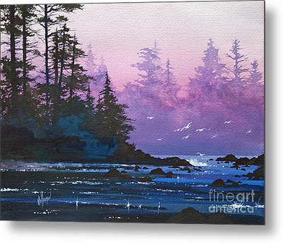 Mystic Shore Metal Print by James Williamson