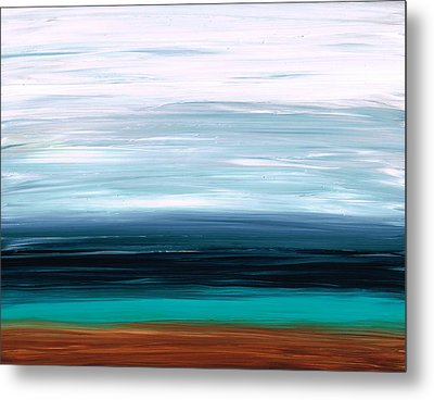 Mystic Shore Metal Print by Sharon Cummings