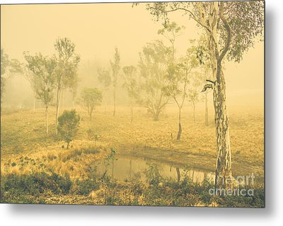 Mystical Lake Metal Print by Jorgo Photography - Wall Art Gallery