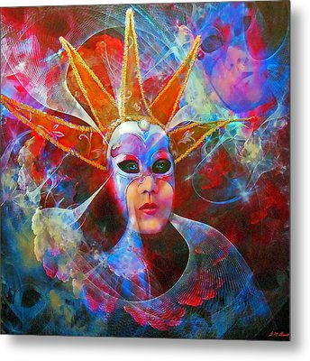 Mystique Metal Print by Michael Durst