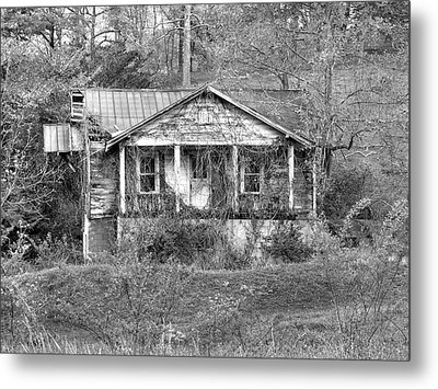 Metal Print featuring the photograph N C Ruins 1 by Mike McGlothlen