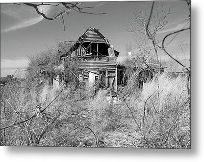 Metal Print featuring the photograph N C Ruins 2 by Mike McGlothlen