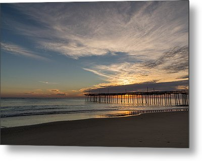 Nags Head Sunrise Metal Print by Gregg Southard