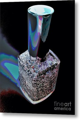 Nail Polish On The Stage Metal Print by Jasna Gopic