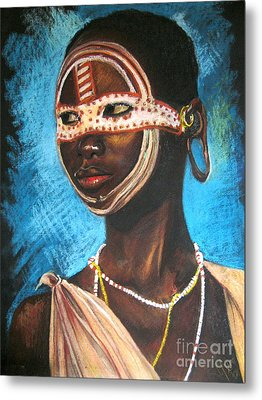 Nairobi Girl Metal Print