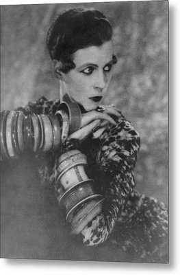Nancy Cunard 1896-1965, Heiress Metal Print by Everett