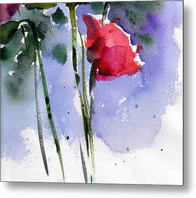 Nancy Jane's Rose Metal Print by Anne Duke