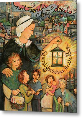 Nano Nagle, Foundress Of The Sisters Of The Presentation Metal Print by Jen Norton