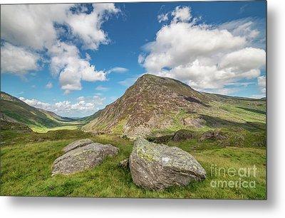 Nant Ffrancon Valley, Snowdonia Metal Print by Adrian Evans