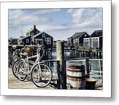Nantucket Bikes 1 Metal Print