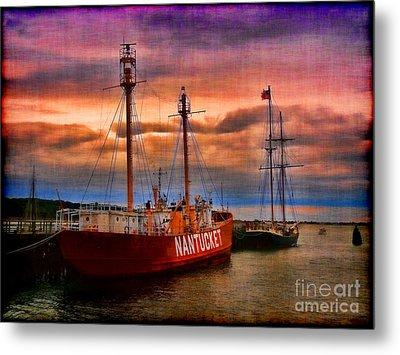 Nantucket Lightship Metal Print by Jeff Breiman