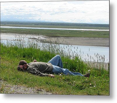 Nap Time  Metal Print