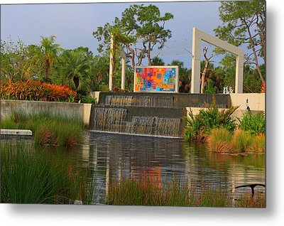 Naples Botanical Garden Metal Print