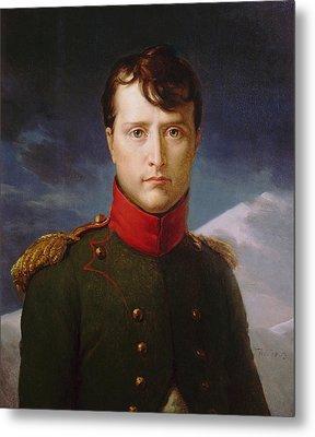 Napoleon Bonaparte Premier Consul Metal Print